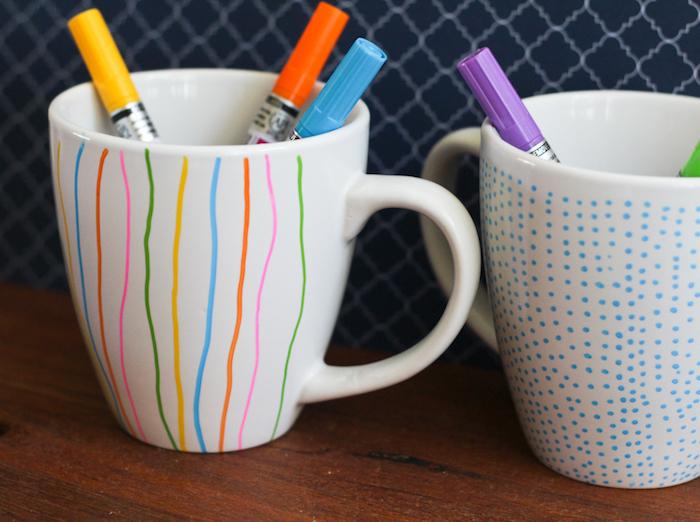 1001 Ideen Und Anleitungen Zum Tassen Bemalen