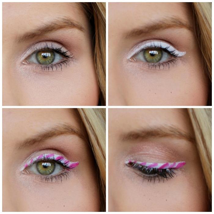 lippenstift farbe, welche farbe soll ich mit dieser schminke kombinieren, weihnachtliche schminke