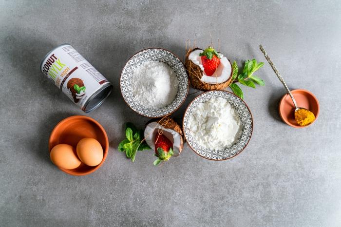 gesundes frühstück zum abnehmen, roti jala pfannkuchen, nötige zutaten