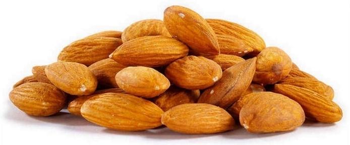 abnehmen leicht gemacht rohe mandeln gesund lecker sättigend balanciertes essen