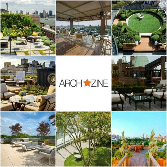 terrassen ideen inspiration von archzine collage aus neun bildern zum thema garten und terrasse
