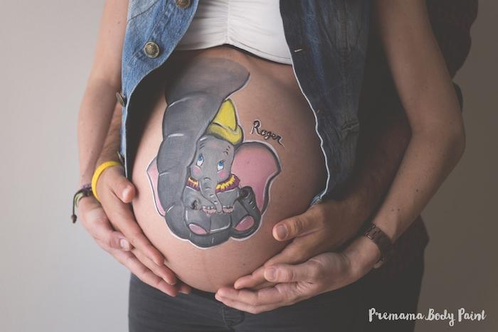 1001 Ideen Und Bilder Zum Thema Babybauch Bemalen