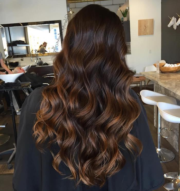 Haarfarben ideen braun