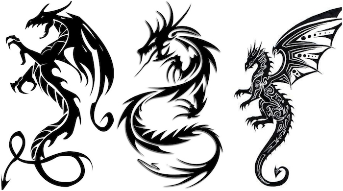 The dragon tattoo and its meaning