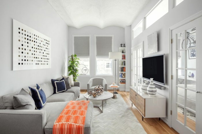 70 Praktiche Wohnzimmer Ideen Für Kleine Räume ...