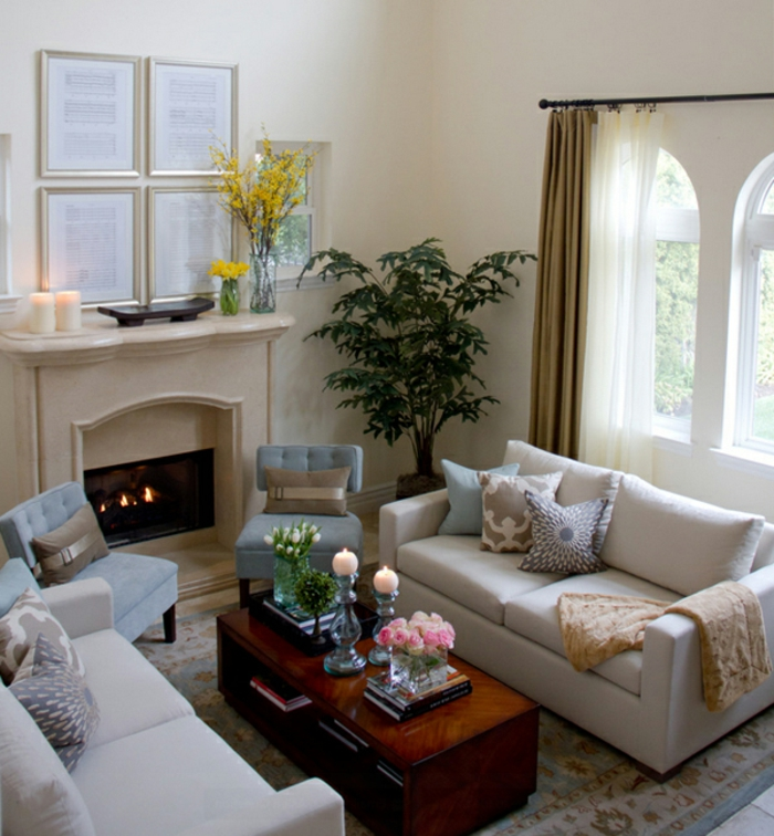 Living Room Design Ideas For Small Spaces: 70 Practical Living Room Ideas For Small Spaces