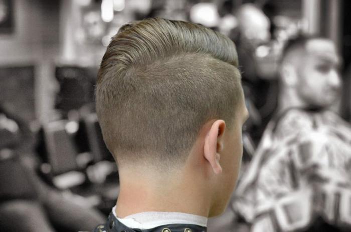 braune Haare, Kinderfrisuren Jungs, ein Haarschnitt nach den letzten Trends