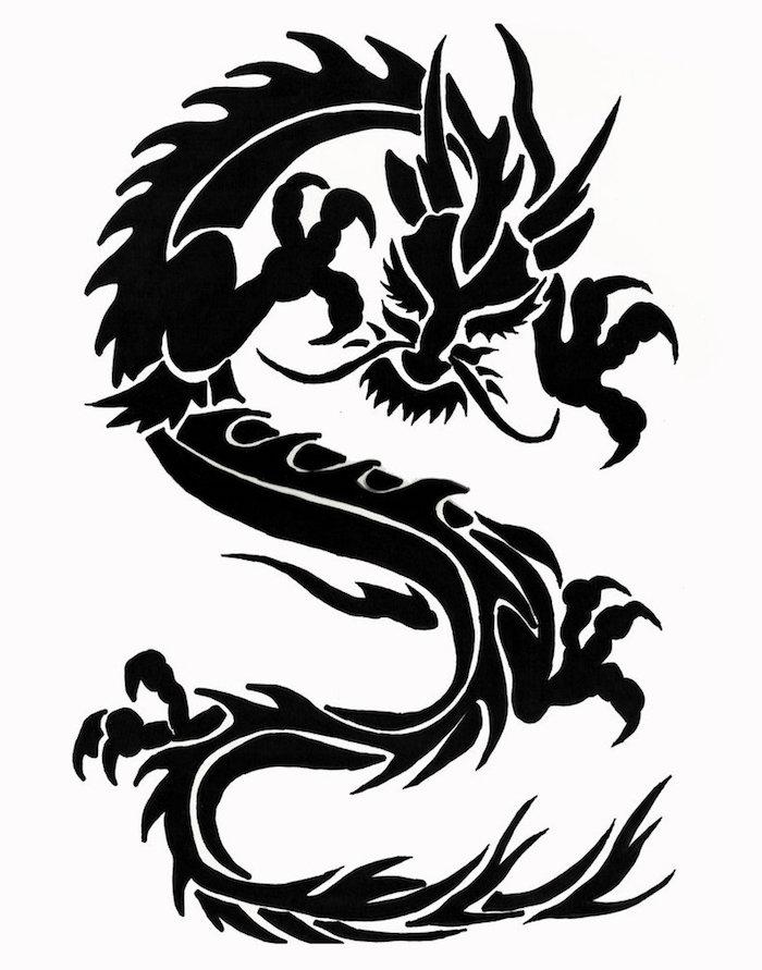 Tattoo bedeutung drachen SKIN STORIES