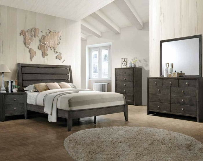 Über 60 Schlaue Ideen, Wie Sie Schlafzimmer Grau Gestalten ...