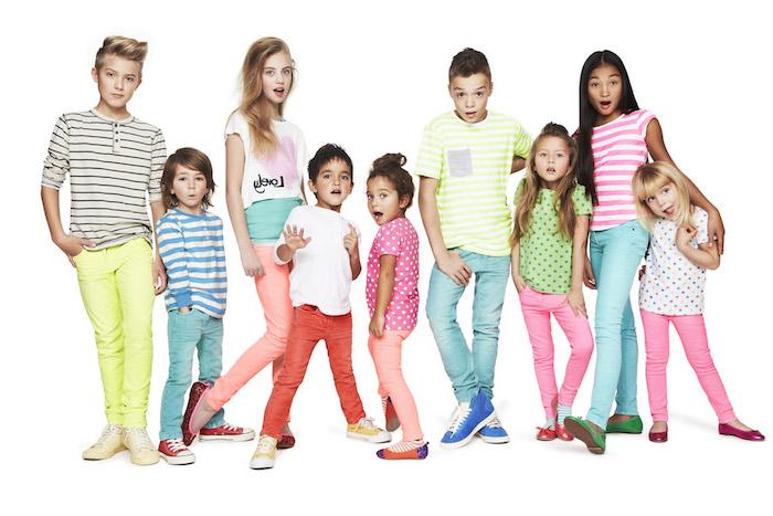 designer kindermode in jedem alter kindergarten schule gymnasium bunte bekleidung