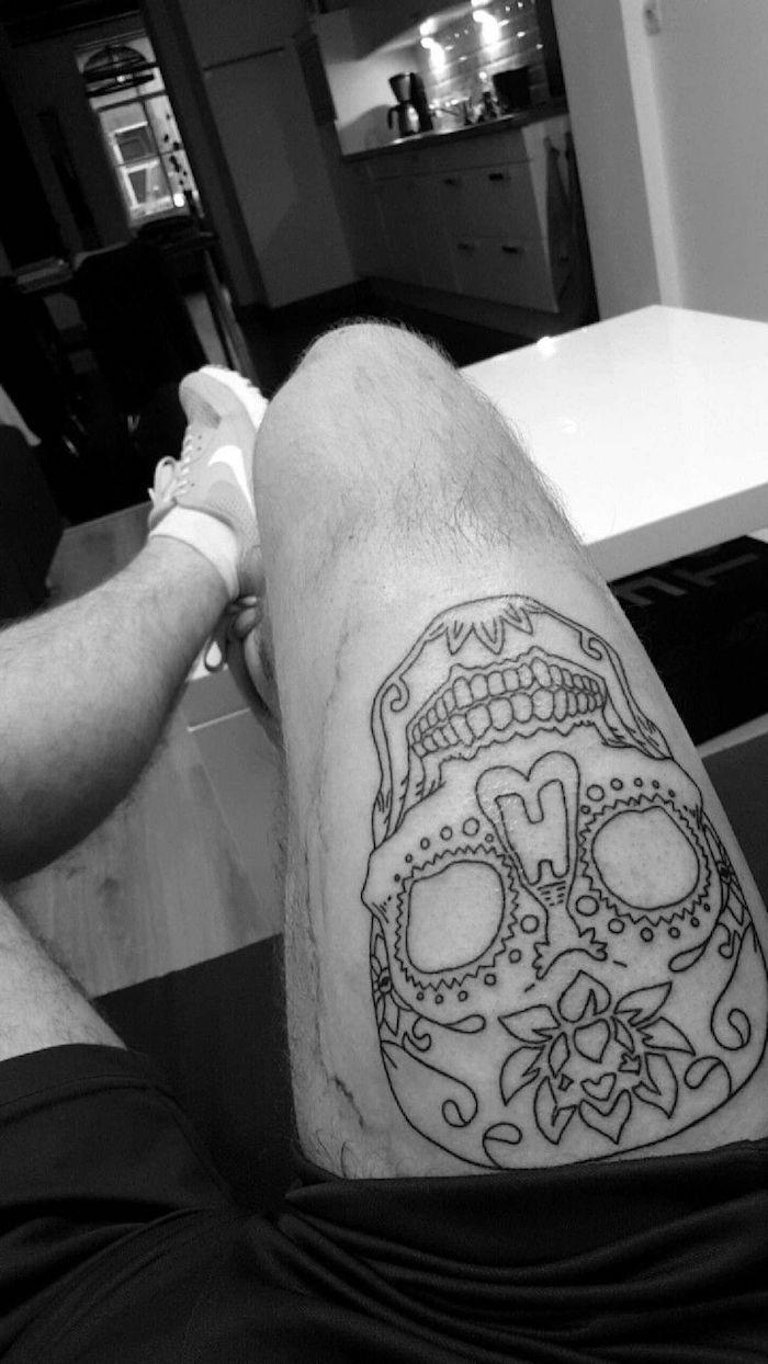 1001 Ideen Und Inspirationen Für Ein Oberschenkel Tattoo