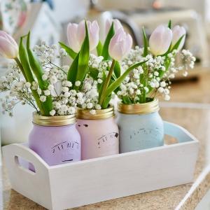 Frühlingsdeko selber machen - kreative Ideen für die ganze Familie