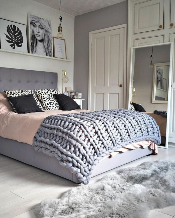 Schlafzimmer Grün Grau: 1001 + Ideen Für Schlafzimmer Grau Gestalten Zum Entlehnen