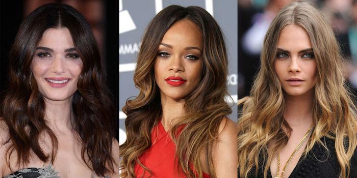 highlights haare ideen von rihanna, sängerin, schauspielerin, model, frisuren zum erstaunen
