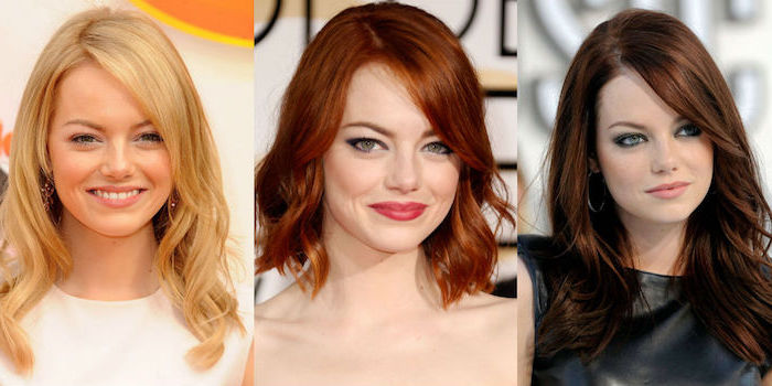 haarfarbe wechseln, haare selber blondieren, ema stone, haarschnitte für rundes gesicht, güne augen schminken