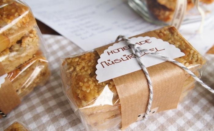energieriegel selber machen ideen für verpackung, selber verpachen, kochen und genießen