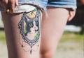 Oberschenkel Tattoo: 93 Ideen und Inspirationen