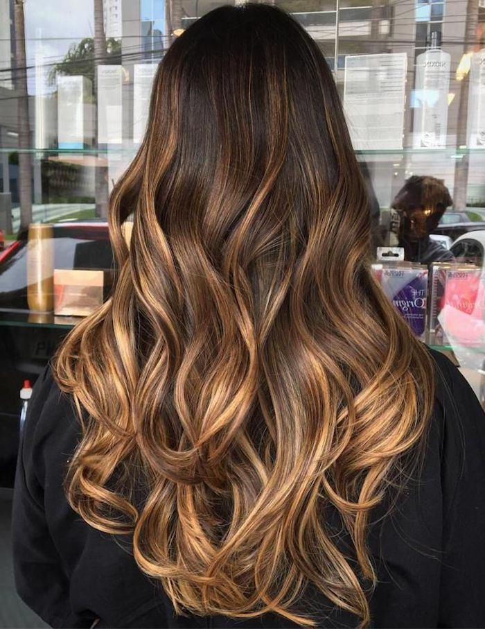 1001 ideen f r balayage braun haarstylings zum erstaunen - Ombre hair blond selber machen ...