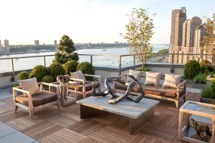 schöne terrassen, letzte mode bei den terrassen, nicht gleichmäßige möbel designs, terrasse mit ausblick