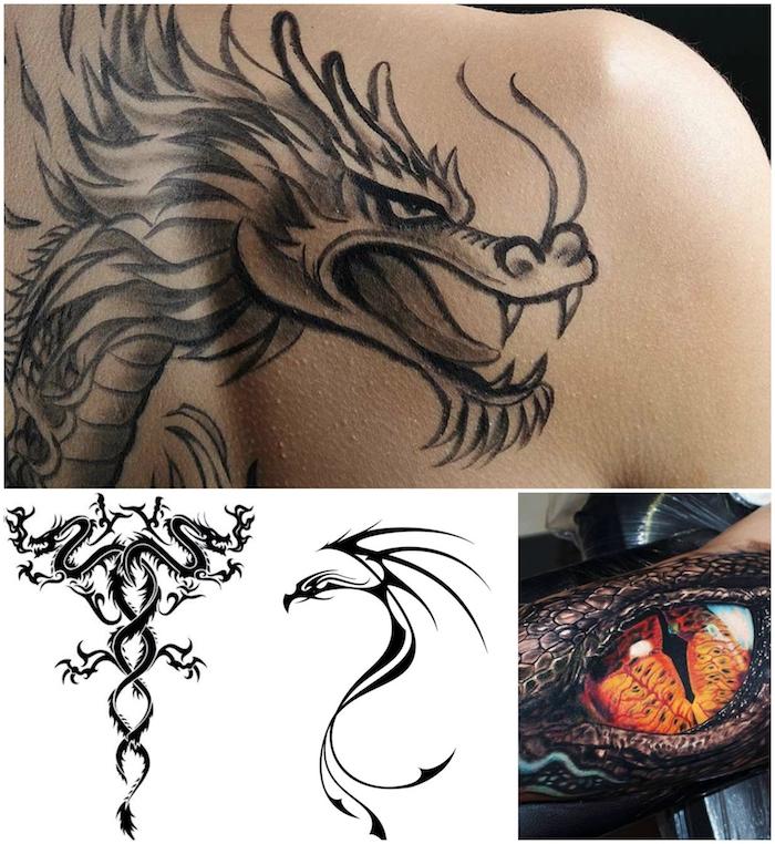 Bedeutung drachen tattoo Das Drachen