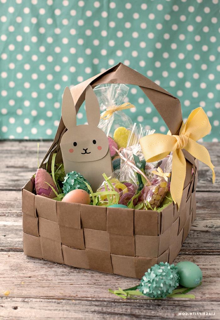 auch zu Ostern muss man an die Natur denken, upcycling Osterkörbchen