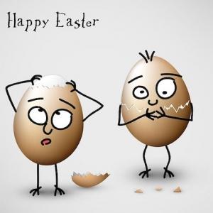 Lustige Osterbilder und einzigartige Ostergrüße