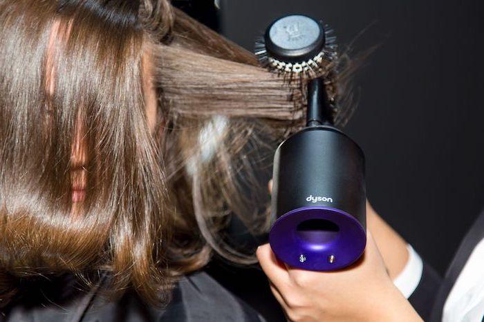 haarwuchs beschleunigen, proffessioneller föhn, runde bürste, haare austrocknen, hitzeschutzprodukte verwenden