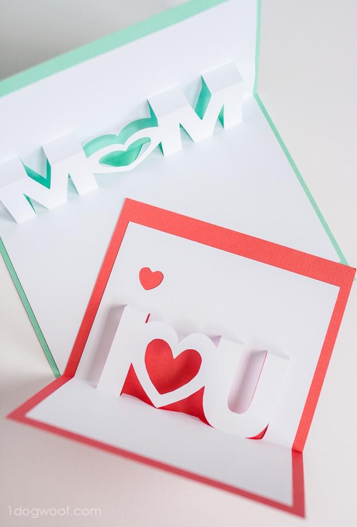 Pop Up Karte Muttertag.1001 Ideen Und Bilder Zum Thema Pop Up Karte Basteln