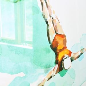 Wandfarbe Türkis - Ideen und Inspiration