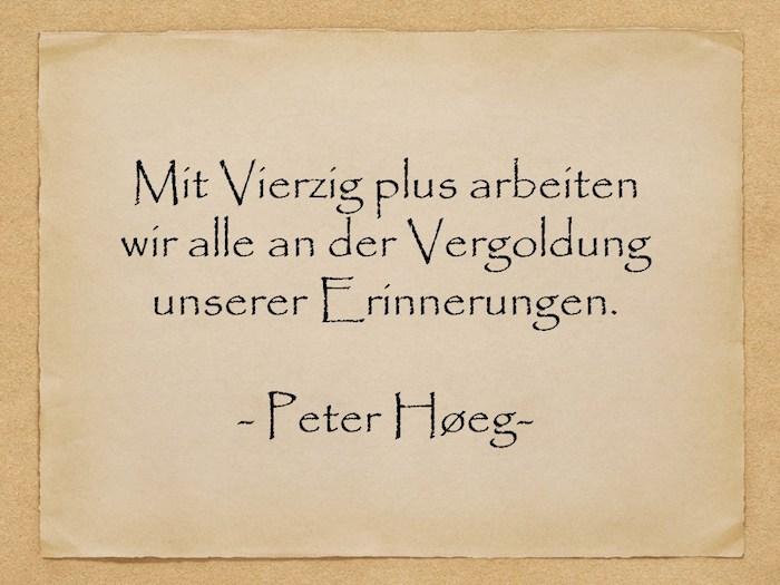 ein altes gelbes blatt papier mit einem kurzen zitat von peter hoeg, geburtstagswünsche für männer bilder, kurze geburtstagswünsche