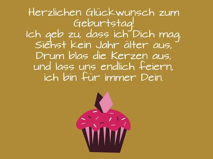 Geburtstagswünsche Torte