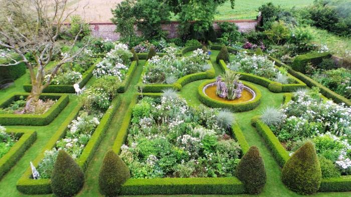 geometrische Gartenwege, Wunder des Gartenbaus, Gartenideen für wenig Geld