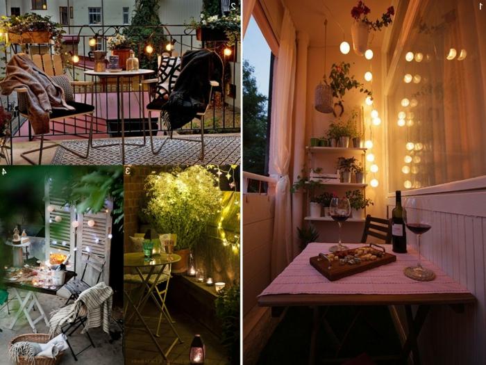 tischdekoration geburtstag idee für eine romantische feier, tisch und stühle, dekorationen