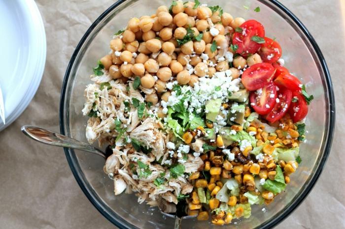 welche Zutaten brauchen Sie für Partysalat schnell und lecker