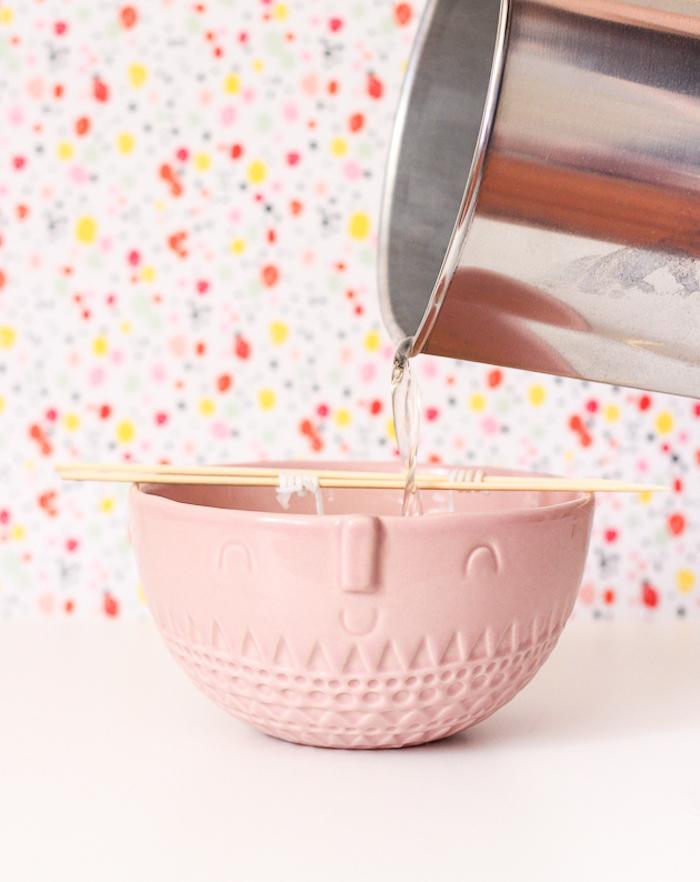 Kreative DIY Idee für Muttertagsgeschenk, Lavendel Duftkerze selber machen