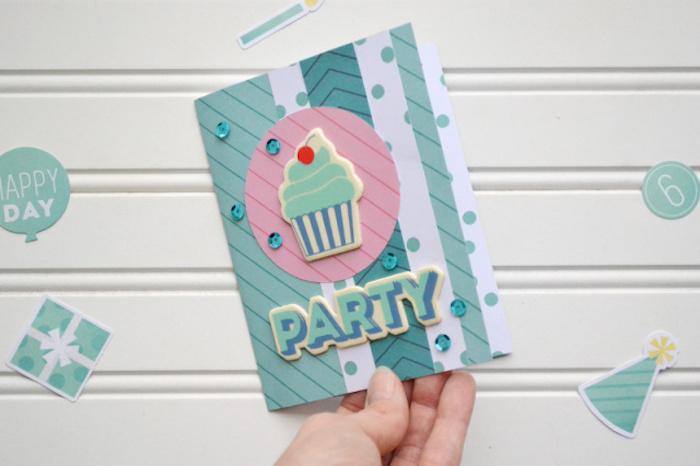 1001 ideen wie sie eine geburtstagskarte basteln - Geburtstagskarte basteln pop up ...