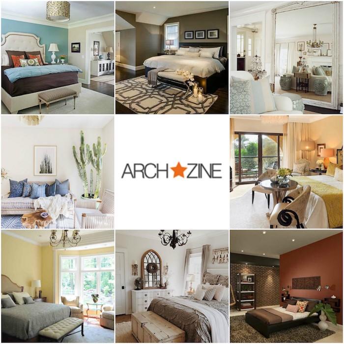 schlafzimmer einrichten, ideen von archzine, logo vom onlinemagazin, acht schöne deko und design ideen