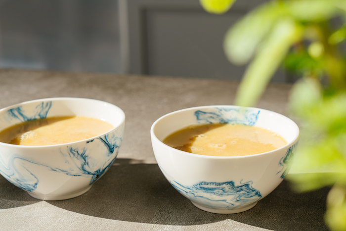 Vegan Creme Caramel Rezept, Förmchen im Kühlschrank gut durchkühlen lassen