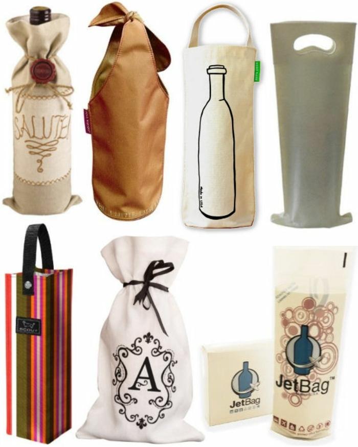 sieben Ideen für Flaschen als Geschenk verpacken, DIY Vorschläge für jeden Anlass
