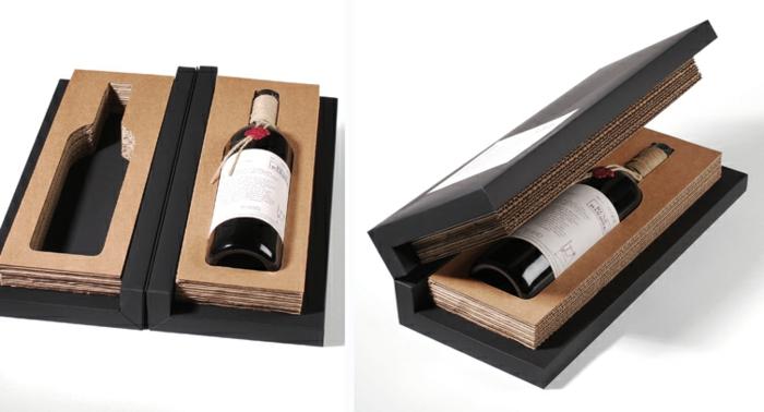 1001 ideen f r flasche verpacken zum entlehnen. Black Bedroom Furniture Sets. Home Design Ideas