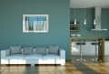 Wohnzimmer Wandfarbe 2018 : Was ist momentan in?