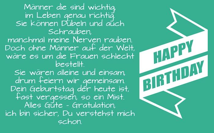 1001 Ideen Und Bilder Zum Thema Geburtstagswunsche Fur Manner
