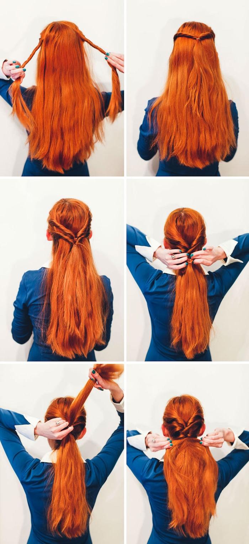 Anleitung für Abiball Frisur in sechs Schritten, Frisuren für besondere Anlässe zum Nachstylen