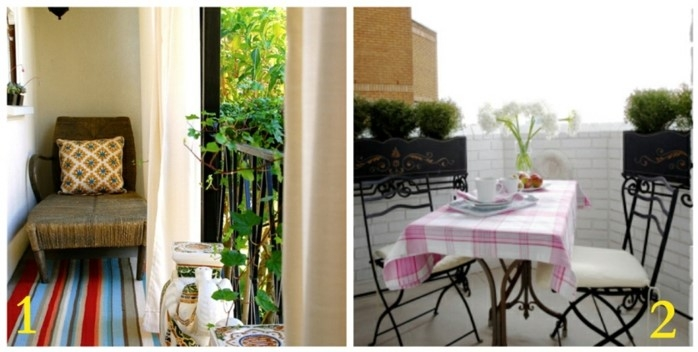 balkon dekorieren, die richtigen möbel für die wohnung finden, sessel, teppich, balkonmöbelset