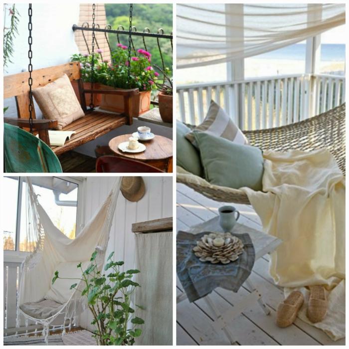 balkonmöbel für kleinen balkon, liegematte, bequeme möbel zum chillen auf dem eigenen balkon