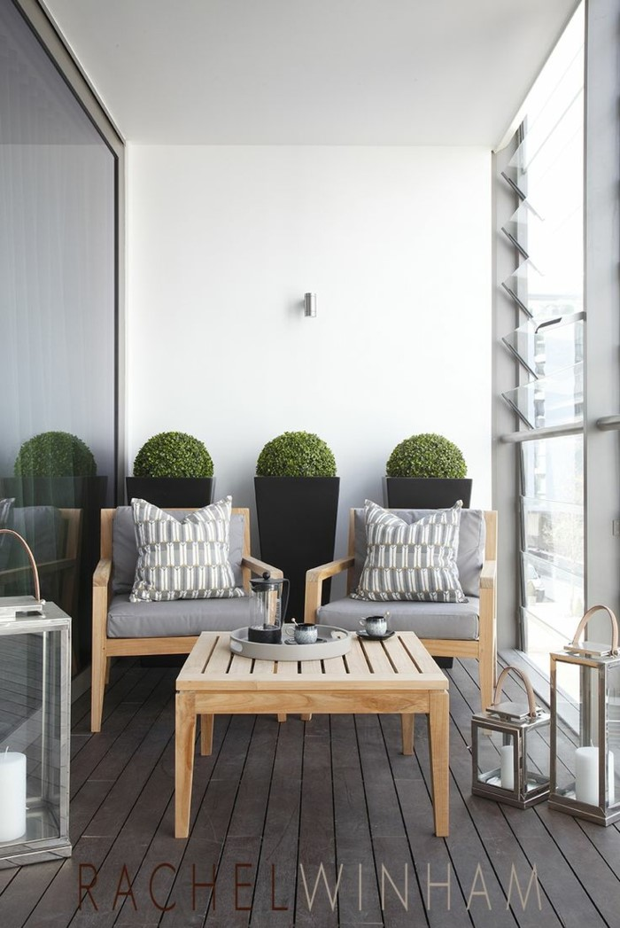 balkonmöbel für kleinen balkon nach dem stil und geschmach wählen, ikea möbel einkaufen, schlichtes design. schöne deko dazu