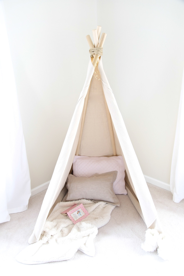 wunderbar tipi zelt kinderzimmer bauen bilder das beste architekturbild. Black Bedroom Furniture Sets. Home Design Ideas