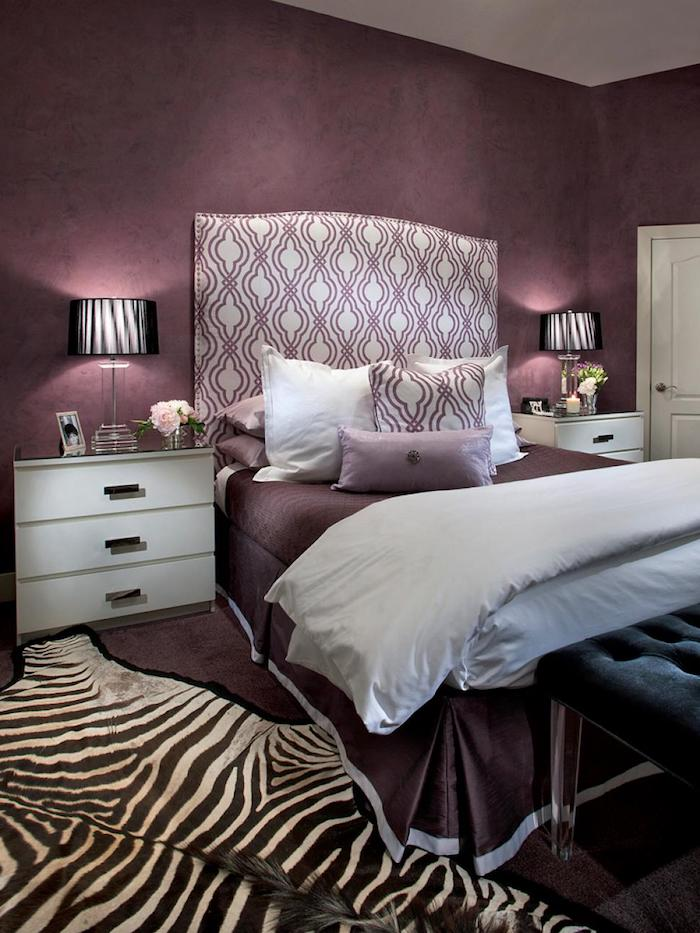 1001 ideen und bilder zum thema aubergine farbe. Black Bedroom Furniture Sets. Home Design Ideas