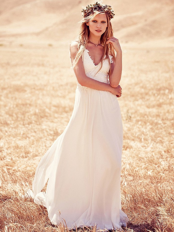 Boho Wedding Dress 100 Models To Jump On Heandshelifestyle Com