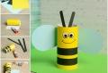 Über 100 Ideen für lustiges Basteln mit Klorollen